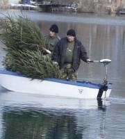 Na jezeru Šoderica postavili smuđevska gnijezda
